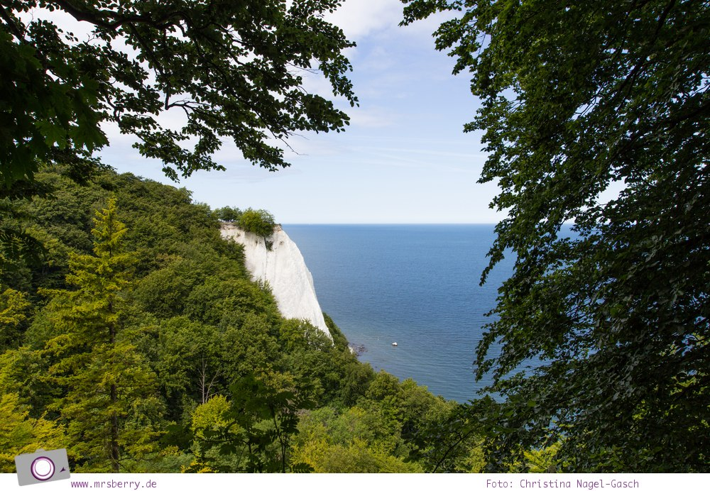 Rügen erleben: Besucher-Zentrum am Königsstuhl mit Aussicht vom Königsstuhl