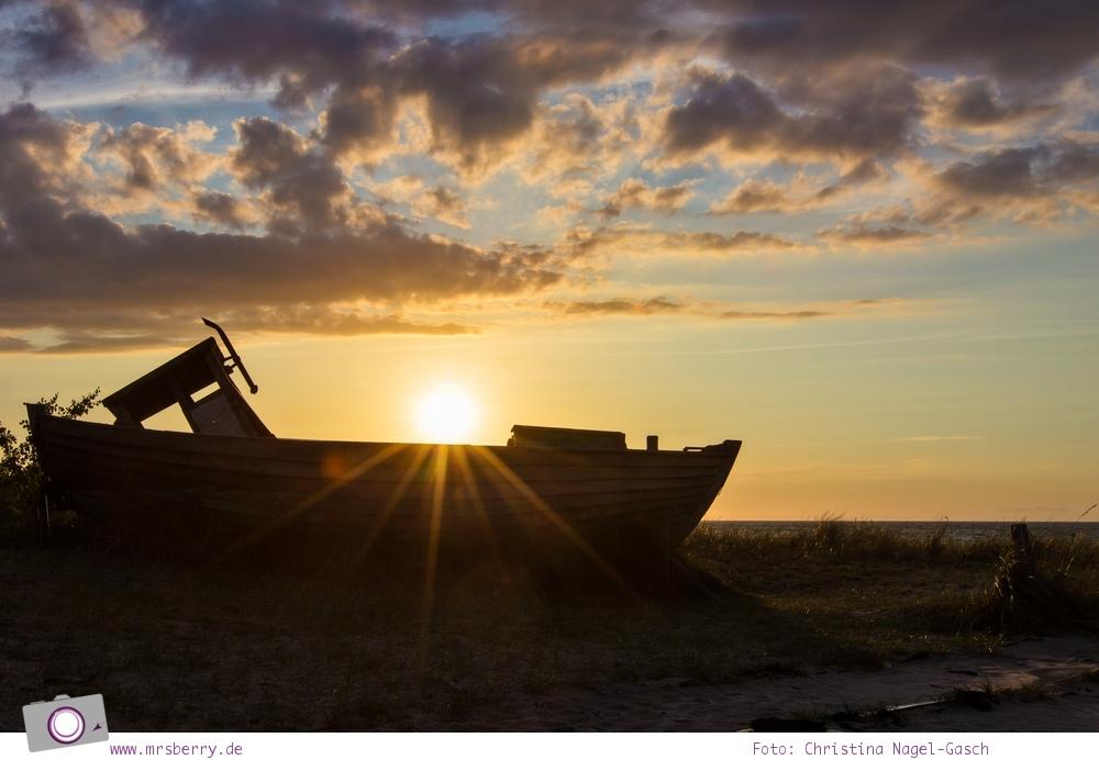Urlaub an der Ostsee - 4 Tage in Zingst: Sonnenuntergang an der Seebrücke Zingst