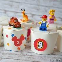 Adventskalender selber machen - die schönsten Ideen: Lego, Disney & Co. aus Pappbechern