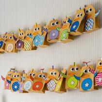 Adventskalender selber machen - die schönsten Ideen: Tütchen als Pinguine