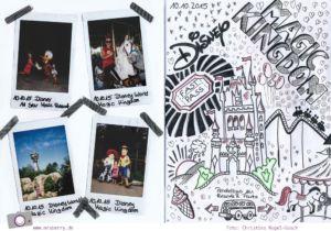 Reisetagebuch basteln: mein Florida Roadtrip in Sketchnotes
