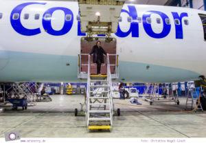 Condor: Ein Blick hinter die Kulissen von Deutschland größtem Ferienflieger #InsightCondor   Einblick in die Condor Technik Halle