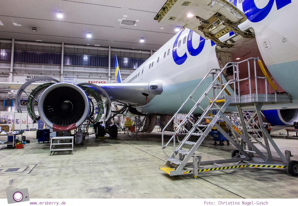 Condor: Ein Blick hinter die Kulissen von Deutschland größtem Ferienflieger #InsightCondor | Einblick in die Condor Technik Halle