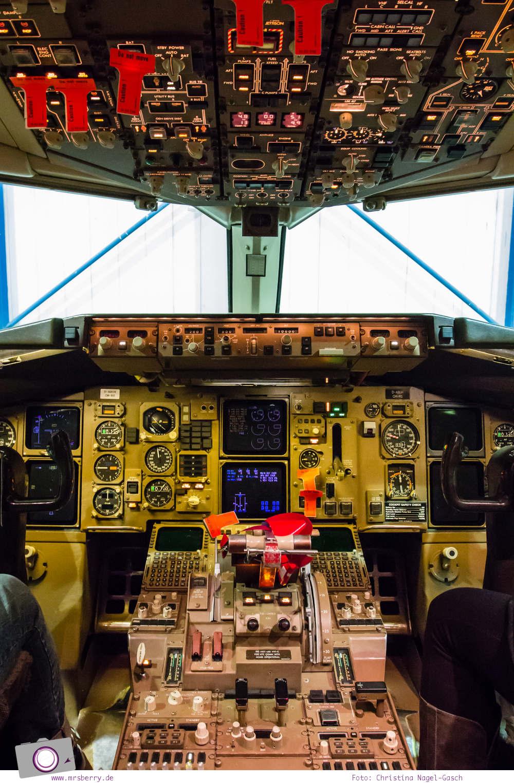 Condor: Ein Blick hinter die Kulissen von Deutschland größtem Ferienflieger #InsightCondor | Einblick in die Condor Technik Halle | im Cockpit eines Flugzeugs