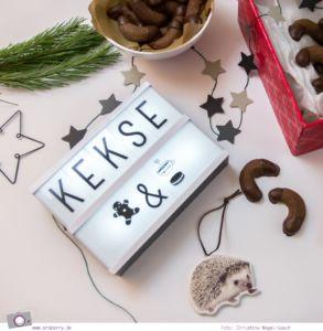 Weihnachts-Bäckerei: Rezept für Schokoladenkipferl