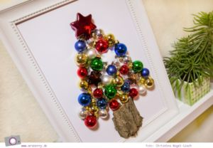 XMAS DIY: Ein Kugelbaum oder ein Tannenbaum aus Weihnachskugeln