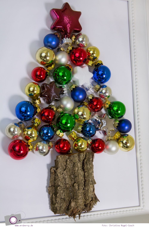 XMAS DIY: Ein Kugelbaum oder ein Tannenbaum aus Weihnachtskugeln