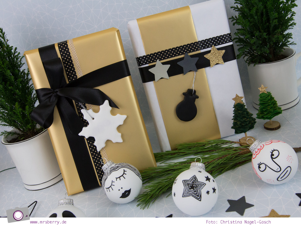 weihnachtskarten aquarellieren geschenke sch n verpacken mrsberry familien reiseblog ber. Black Bedroom Furniture Sets. Home Design Ideas