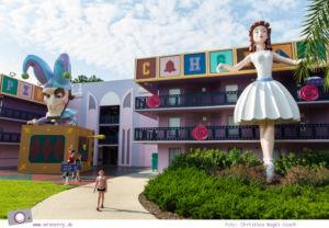 Familienurlaub in den USA - Florida Rundreise: Disney World in Orlando - All-Stars Resort Movies