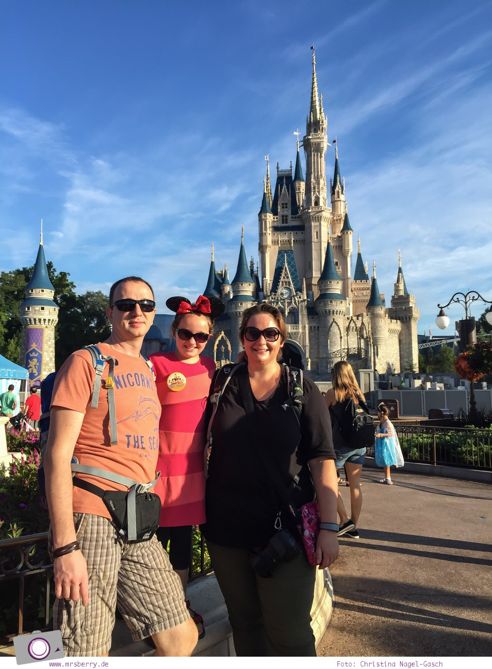 Familienurlaub in den USA - Florida Rundreise: Disney World in Orlando - Magic Kingdom
