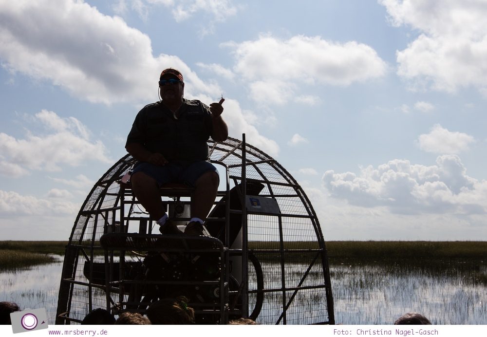 Florida Rundreise: Airboat Tour durch die Everglades
