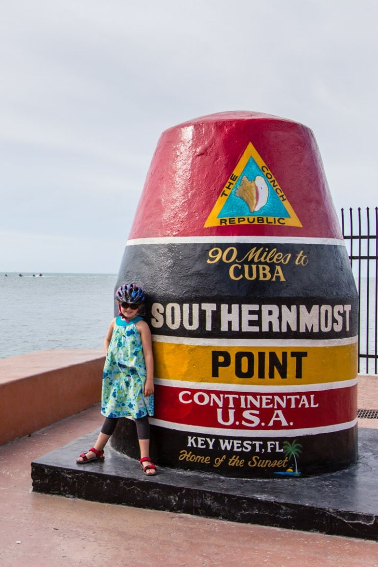 Florida Rundreise: Florida Keys - Key West per Fahrrad entdecken - Southernmost Point