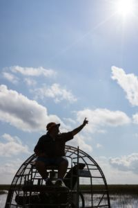 Florida Rundreise: Airboat Tour durch die Everglades