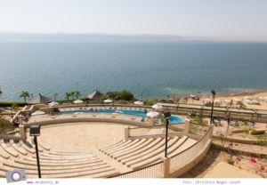Rundreise Jordanien - ein Reisebericht: Crown Plaza Dead Sea Hotel am Toten Meer