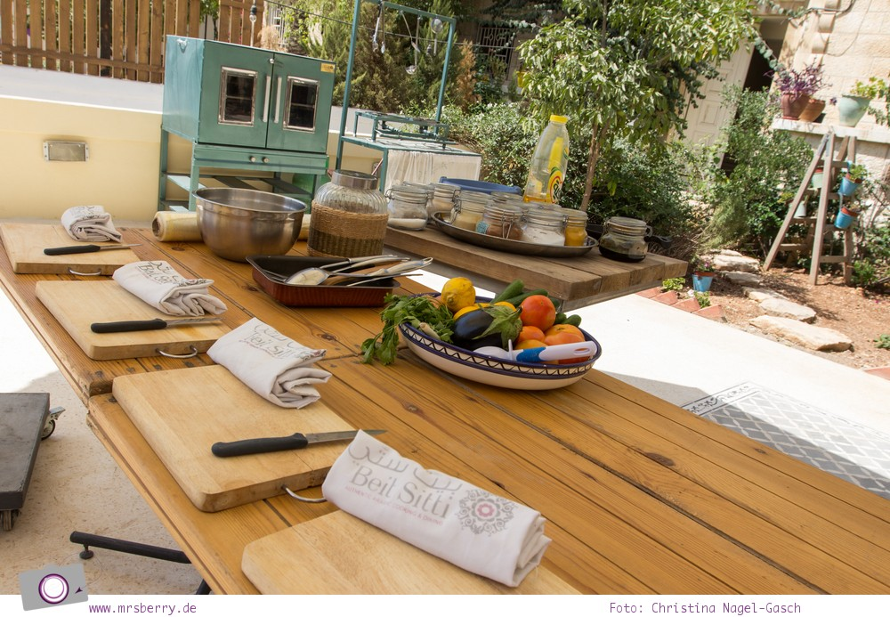 Rundreise Jordanien - ein Reisebericht: Arabisch kochen in der Kochschule Beit Sitti in Amman
