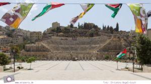 Rundreise Jordanien - ein Reisebericht: Das Römische Theater aus dem zweiten Jahrhundert