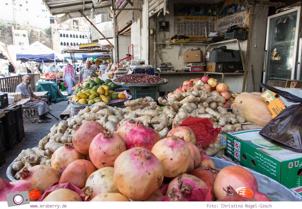 Rundreise Jordanien - ein Reisebericht:  die Suqs der Hauptstadt Amman