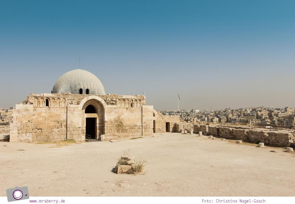 Rundreise Jordanien - ein Reisebericht: Besuch des Zitadellenhügel in Amman