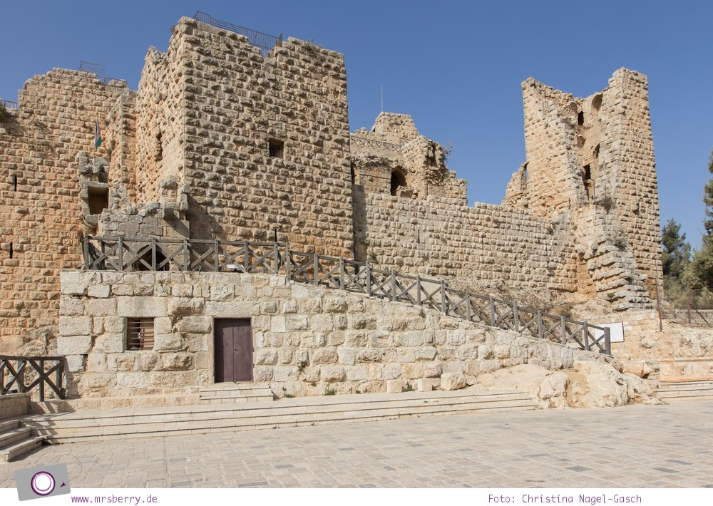 Rundreise Jordanien - ein Reisebericht: historische Burg von Ajloun