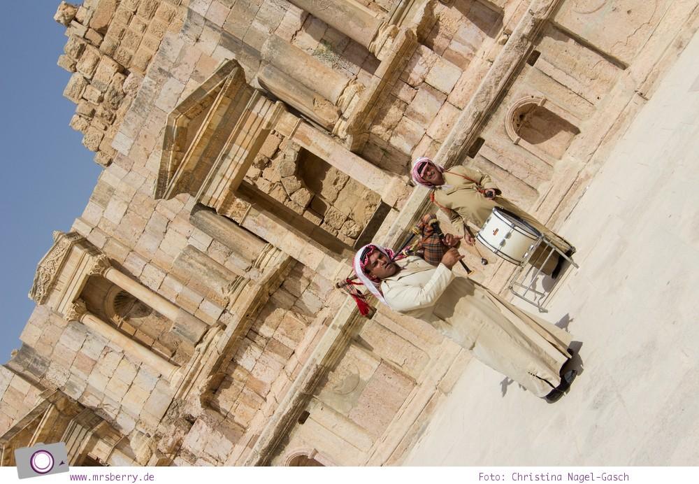 Rundreise Jordanien - ein Reisebericht: historische Stadt Jerash (Gerasa)