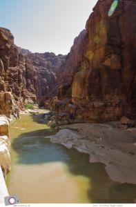 Rundreise Jordanien - ein Reisebericht: Wadi Mujib (Wadi Mudschib) Canyon