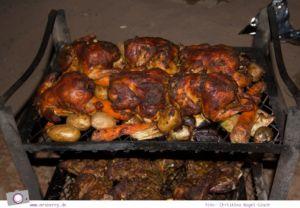 """Rundreise Jordanien - ein Reisebericht: Besouinen Barbecue """"Zarb"""" im Wadi Rum"""