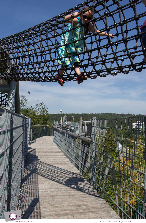 Winterberg im Sommer: Ausflugsziel Erlebnisberg Kappe - Panorama-Erlebnisbrücke