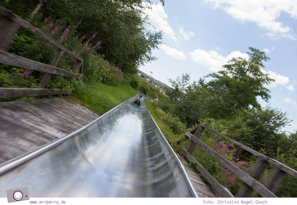 Winterberg im Sommer: Ausflugsziel Erlebnisberg Kappe - Sommerrodelbahn