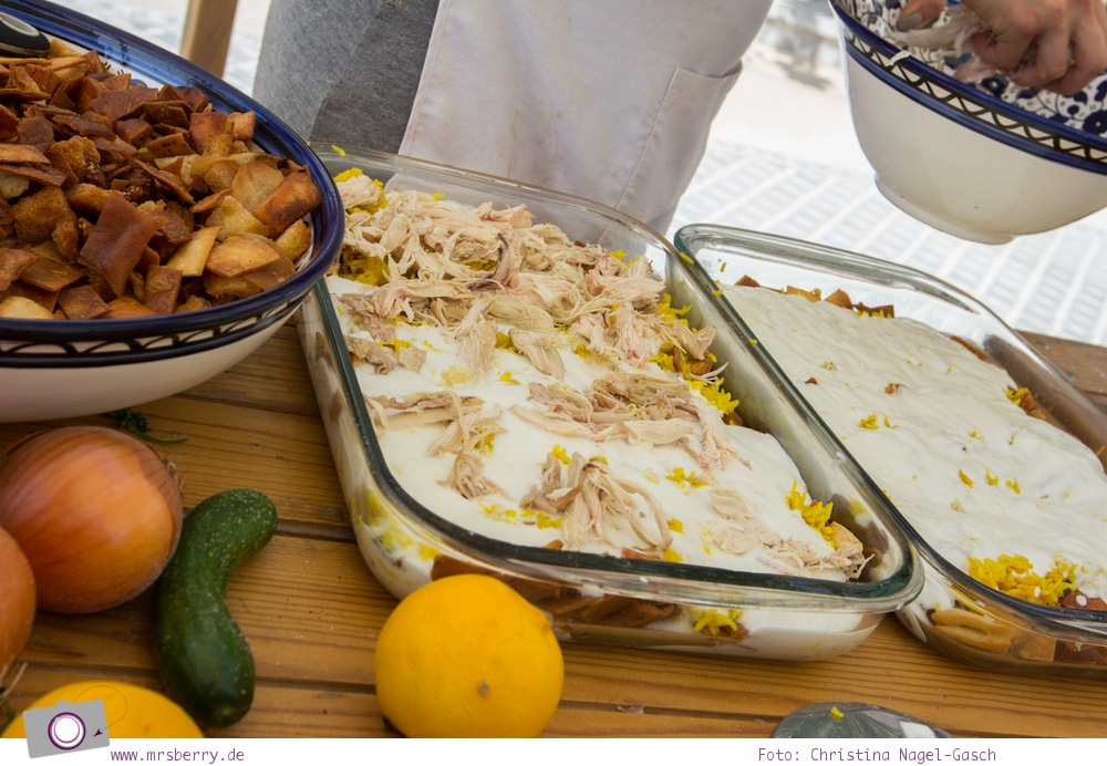 Arabisch kochen - Rezepte aus Jordanien: Fattet Jaj