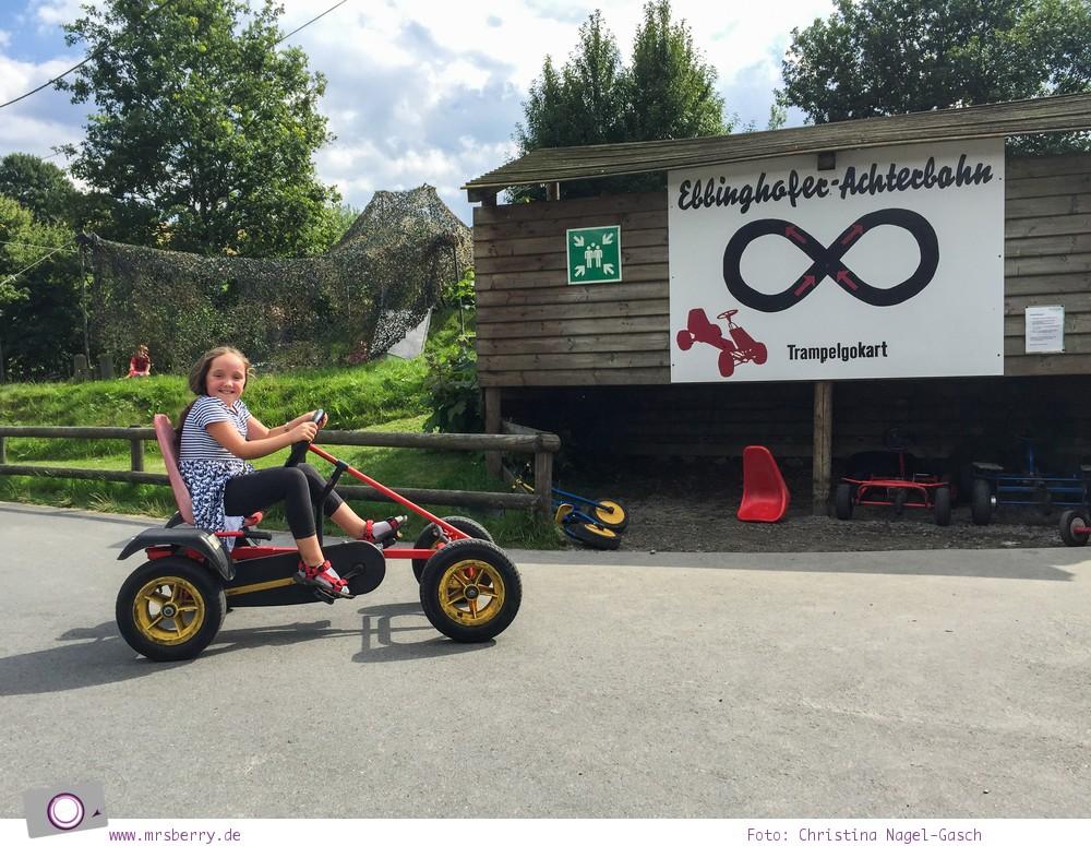 Urlaub im Sauerland - Familotel Ebbinghof in Schmallenberg: Kartbahn