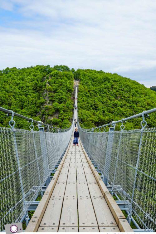 Tagesausflug zu Deutschlands längster Hängeseilbrücke – Geierlay im Hunsrück