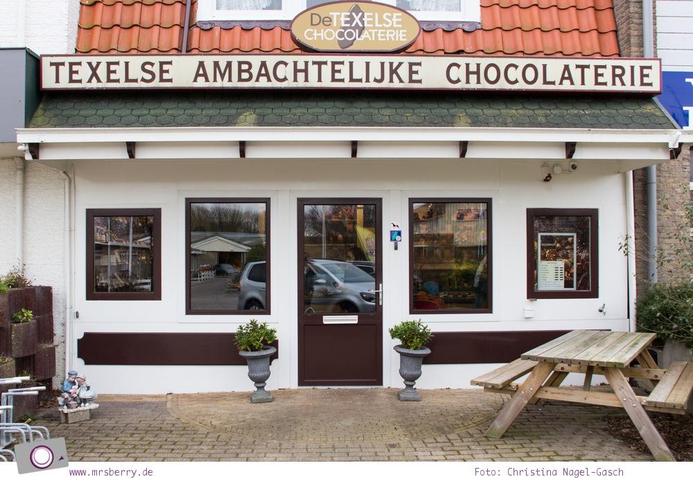 Urlaub auf Texel mit Kind und Hund - Texel Chocolaterie in Den Burg