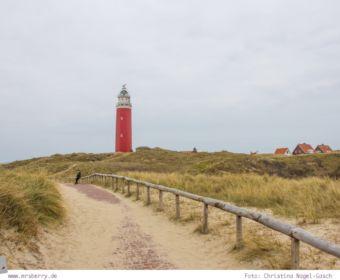 Urlaub auf Texel mit Kind und Hund - Besichtigung des Leuchtturms