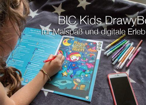 DrawyBook von BIC Kids: für Malspaß und digitale Erlebnisse