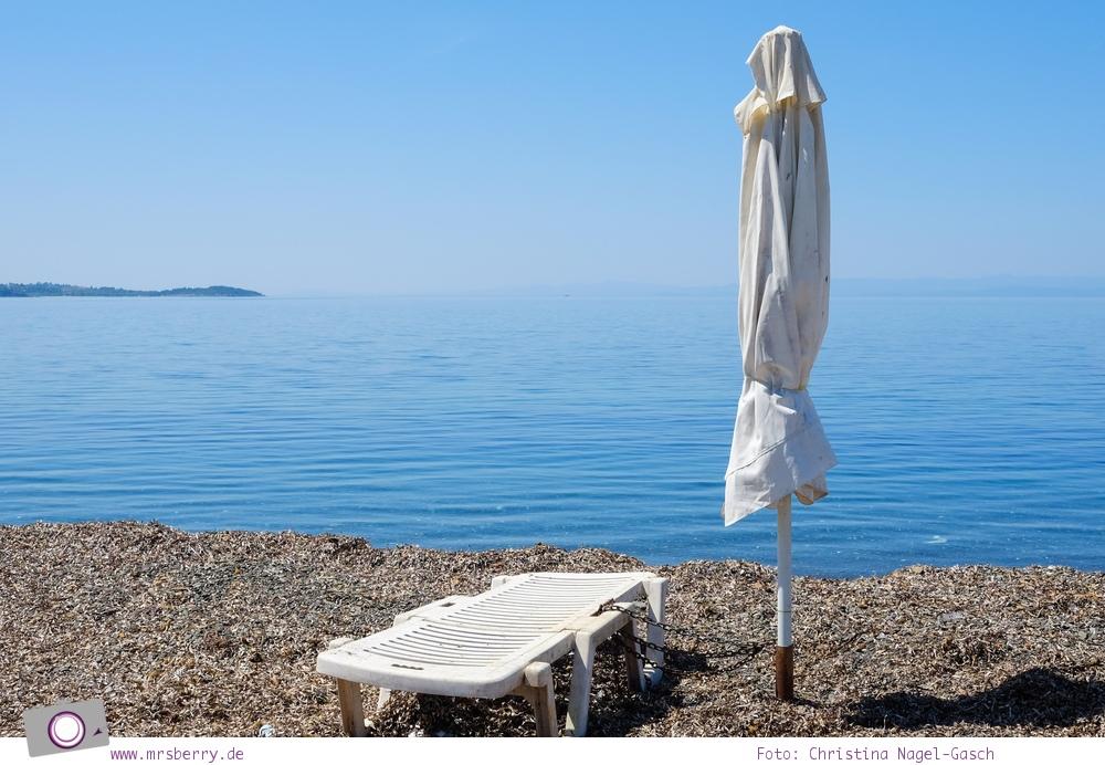Griechenland, Chalkidiki, Kassandra:  nahezu verlassenes Fischerdorf Kap Palioúri