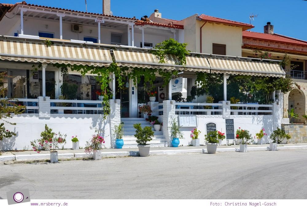 Griechenland, Chalkidiki, Kassandra:  Küstenort Néa Skióni
