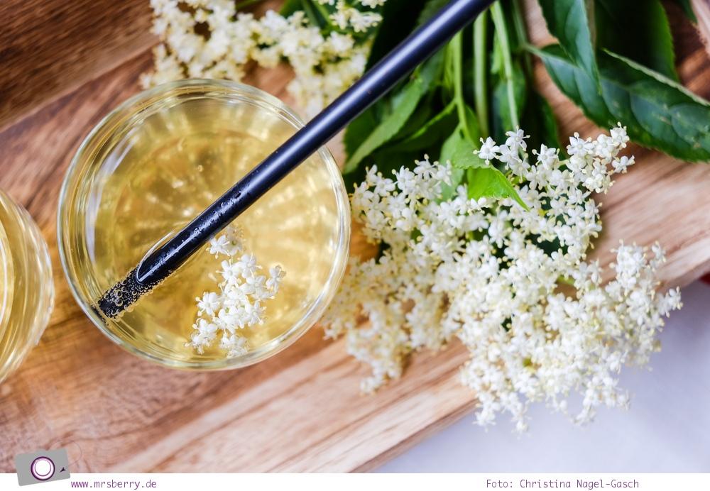 Holunderblütensirup selber machen