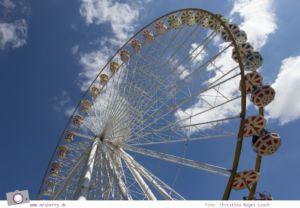 Die besten Ausflugsziele im Sauerland für Familien: Fort Fun Abenteuerland - Big Wheel Riesenrad