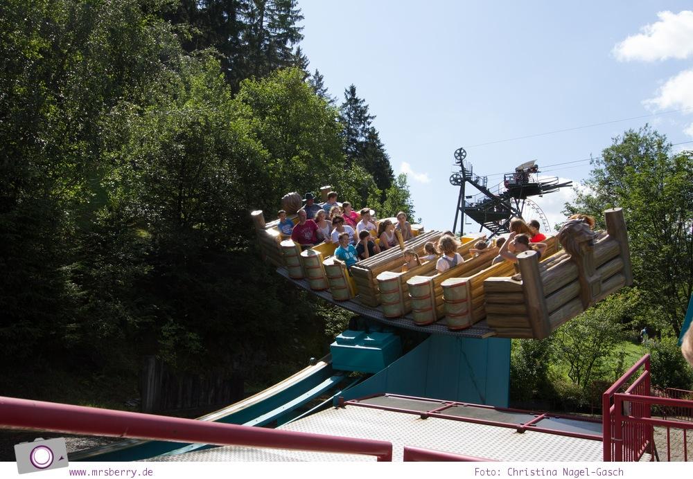 Die besten Ausflugsziele im Sauerland für Familien: Fort Fun Abenteuerland - Capt'n Crazy