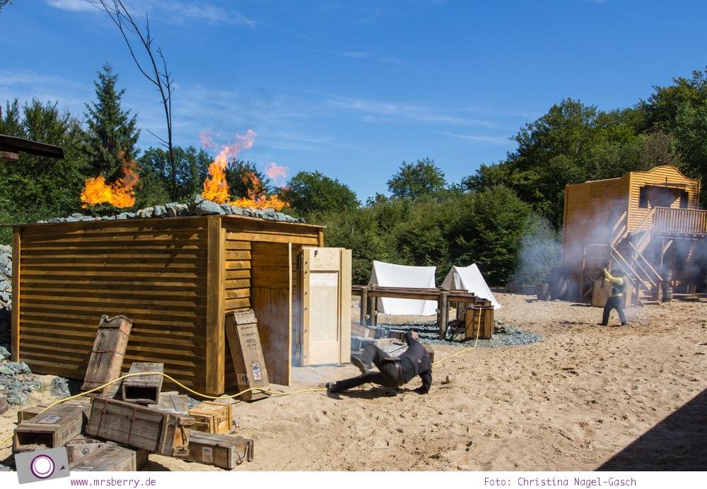 Die besten Ausflugsziele im Sauerland für Familien: Fort Fun Abenteuerland - Western Show