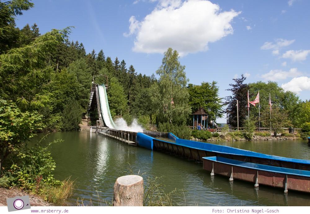 Die besten Ausflugsziele im Sauerland für Familien: Fort Fun Abenteuerland - Rio Grande Wildwasserbahn
