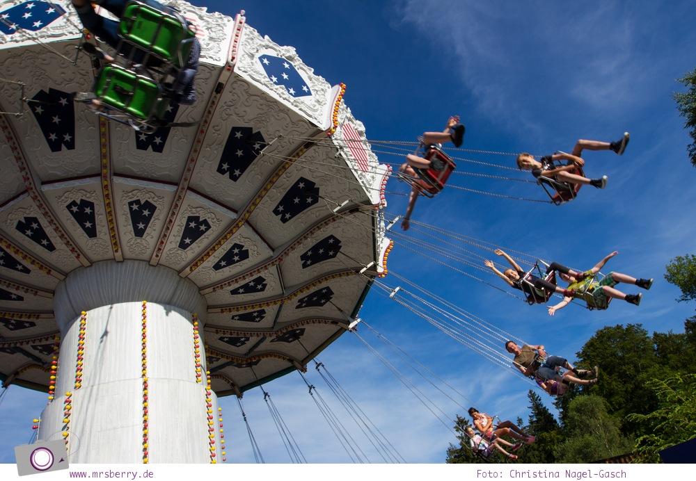 Die besten Ausflugsziele im Sauerland für Familien: Fort Fun Abenteuerland - Wellenflieger Kettenkarussell