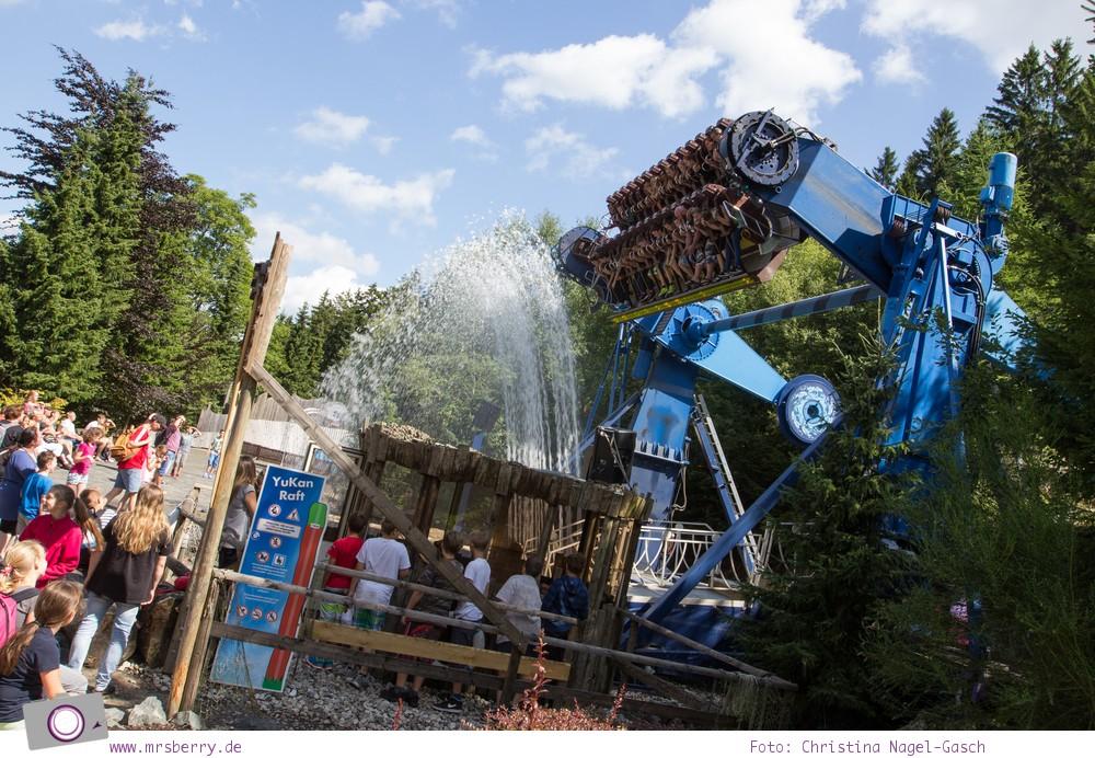 Die besten Ausflugsziele im Sauerland für Familien: Fort Fun Abenteuerland - Yukan Raft