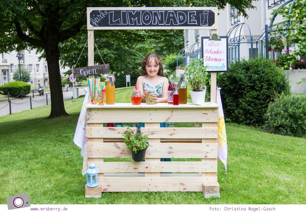 DIY Limonadenstand aus Europalette bauen  MrsBerry  Leben und