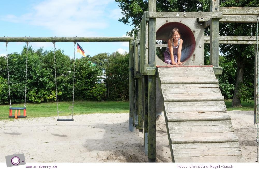 Camping an der Nordsee - mit Zelten Kind und Hund im Nordsee-Camp in Norddeich: Spielplatz