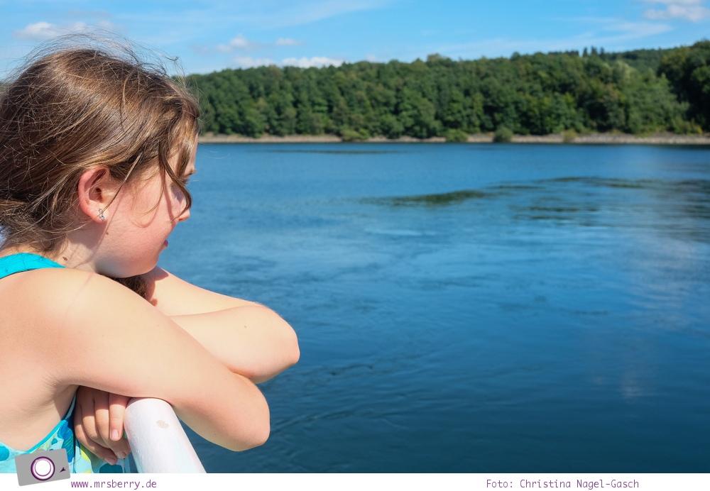 Biggesee im Sauerland - ein Tagesausflug mit Kind und Hund   Schifffahrt auf den Biggesee