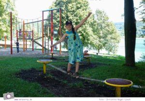 Biggesee im Sauerland - ein Tagesausflug mit Kind und Hund | Spielplatz am Biggesee