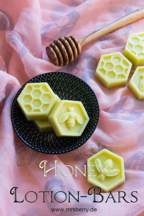 Körperbutter selber machen – Honey-Lotion-Bars