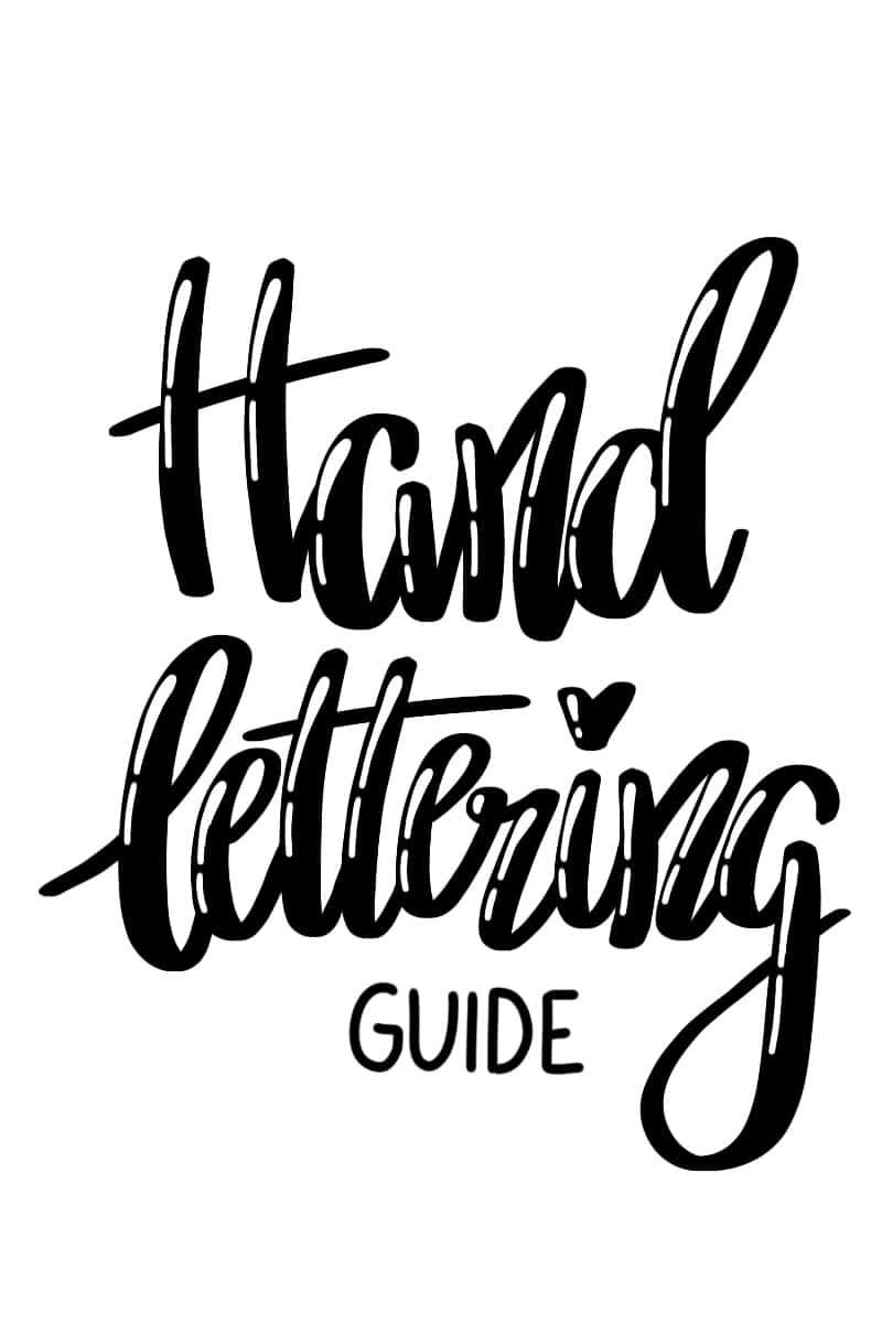 Lettering Guide für Anfänger und Fortgeschrittene | Handlettering lernen