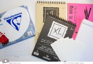 Lettering Guide: Materialien, Tipps & Tricks für Hand Lettering und Brushlettering - für Anfänger und Fortgeschrittene: Papier